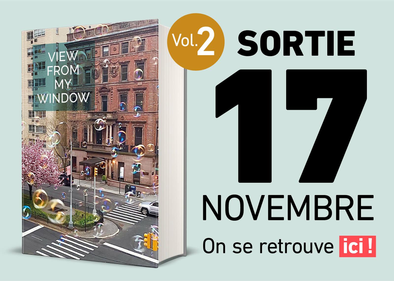 Sortie du livre Vol. 2 ce 17 novembre !